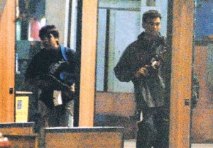 Pictures of young Terrorists caught on CCTV camera at Mumbai CST Train Station.